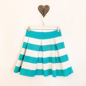 Dresses & Skirts - Mint & White Horizontal Striped Skirt
